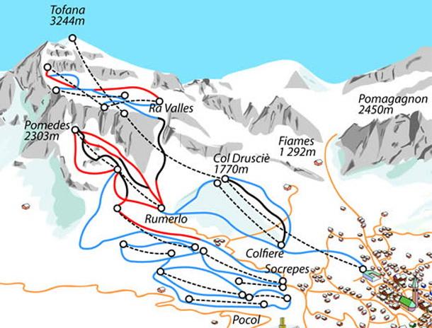 Cortina dAmpezzo skibusrs